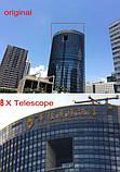 Универсальный объектив c оптическим увеличением 8х для смартфона с держателем телевик для смартфона SKU0000450, фото 8