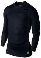 Детская термо-футболка с длинным рукавом Nike Core Compression LS Top  522803-010