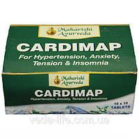 Кардимап / Cardimap, 100 табл. - гипертония, аритмия, невроз, бессонница