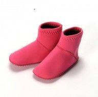 Детские неопреновые носки для бассейна и пляжа Konfidence Paddlers L / 12-24 мес. ТМ Konfidence розовый NS02LC
