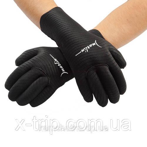 Перчатки пятипалые для подводной охоты Marlin Superstretch 4 мм