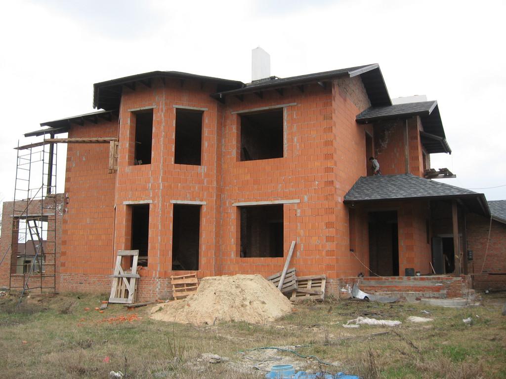 Утепление фасада частного дома минватой 3