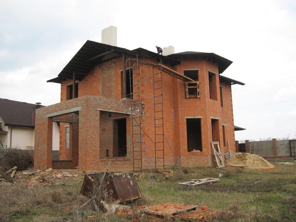 Утепление фасада частного дома минватой -1