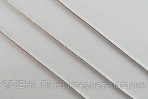 Цепочка серебряная - плетение Снейк