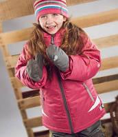 Зимний термокостюм для девочки  6-7 лет (куртка, полукомбинезон, манишка) ТМ Perlim Pinpin Ягода, фото 1
