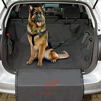Защитная накидка в багажник авто для собак Car Safe Deluxe (Карли-Фламинго) Karlie Flamingo