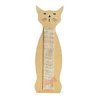 Настенная когтеточка для кошек в форме кота, сизаль, Scratching Sisal Cat Shape (Карли-Фламинго) Karlie Flamingo