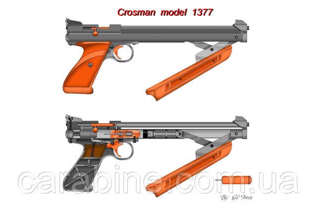 Система накачки crosman american classic 1377