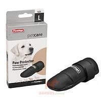Защитный ботинок для собак пород ретривер, спаниель, твердая подошва, Paw Protector (Карли-Фламинго) Karlie Flamingo