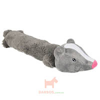 Барсук мягкая игрушка для собак, плюш, Badger (Карли-Фламинго) Karlie Flamingo