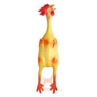 Игрушка для собак, курица с пищалкой Latex Chicken (Карли-Фламинго) Karlie Flamingo