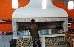 Мангальный комплекс 1800х600х2300 BBQ