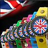 Часы женские наручные BRITISH FLAG black (черный), фото 2
