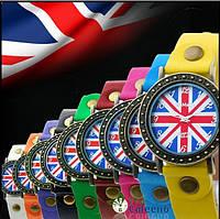 Часы женские наручные BRITISH FLAG в НАЛИЧИИ!!!!!