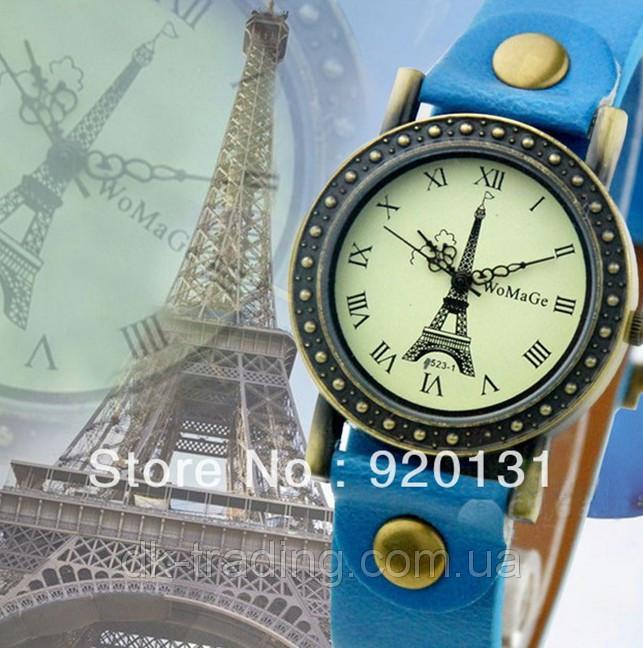 Часы женские Paris Vintage light blue (голубой)