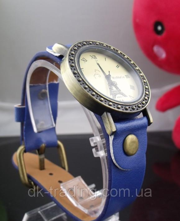 Часы женские Paris Vintage blue (синий)