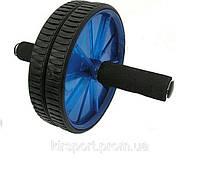 Колесо-триммер двойное FI-2086 (d колеса-17см, металл, пластик, резина, ручка-резина, с ковриком