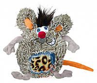 Игрушка для собак Крыса плюшевая круглая 17 см (Трикси) Trixie