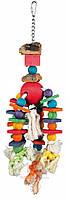 Игрушка для попугаев Мультиколор на канате 35 см (Трикси) Trixie