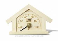 """Термометр для бани """"Домик"""" Sawo 125 T"""
