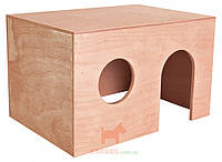 Домик для морской свинки деревянный (Трикси) Trixie