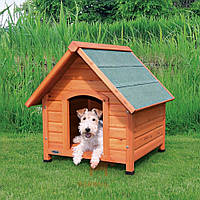 Дом деревянный для собак Natura покатая крыша (Трикси) Trixie (83 х 87 х 101 см)