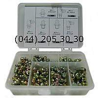 Набор пресс-масленок в пластиковом диспенсере (110 шт. )