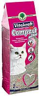 Наполнитель для кошачьего туалета Compact (Витакрафт) Vitakraft (4 кг)