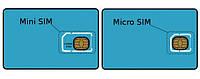Обрезка sim карты на micro sim в Харькове
