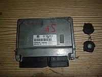 ЭБУ (комплект) (1,4 V MPI 8V) Skoda Fabia 1 01-07 (Шкода Фабия), 047906033C