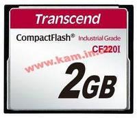 Карта памяти Transcend 2GB Industrial CF Card 220X (TS2GCF220I)