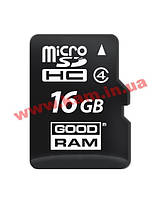 Карта памяти Goodram Class 4 16GB microSDHC no adapter (M400-0160R11)
