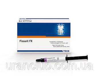 Светоотверждаемый герметик для запечатывания фиссур Fissurit FХ (Фисурит ФИкс, Воко)