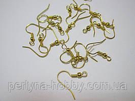 Швензи  10 пар (20 шт) золото