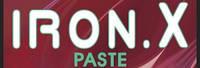 IRON X PASTE для удаления железа с загрязненных мест с нейтральным РН