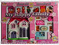 Кукольный домик Счастливая семья М8035