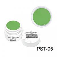 Зелёная гель-паста для объемного дизайна PST-05