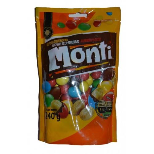 Драже Monti с арахисом (аналог M&Ms) 240гр