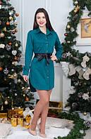 Стильное женское платье-рубашка оптом и в розницу