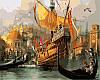 Картины по номерам 40 × 50 см. Венеция. Время маскарада