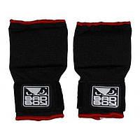 Бинт-перчатка для защиты руки во время тренировок Bad boy красный