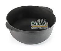 Кастрюля чугунная 4л 24х10см без крышки, чугунная посуда Эколит (2410КЧ) (Украина)