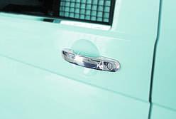 Накладки на ручки (нержавейка) - Volkswagen T5 Caravelle (2004-2010)