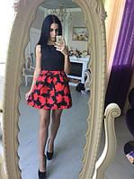Невероятное красивое платье, ткань жаккард