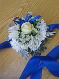 Браслет-цветок на руку для дружки, фото 4