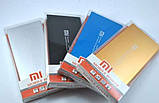 Ультратонкий Power Bank Xiaomi 14800 mAh 2 USB+фонарик Реплика, фото 2