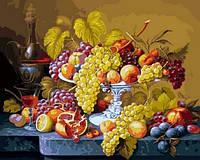 Картины по номерам 40×50 см. Роскошный виноград