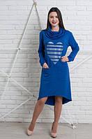 Качественное женское платье в casual-стиле