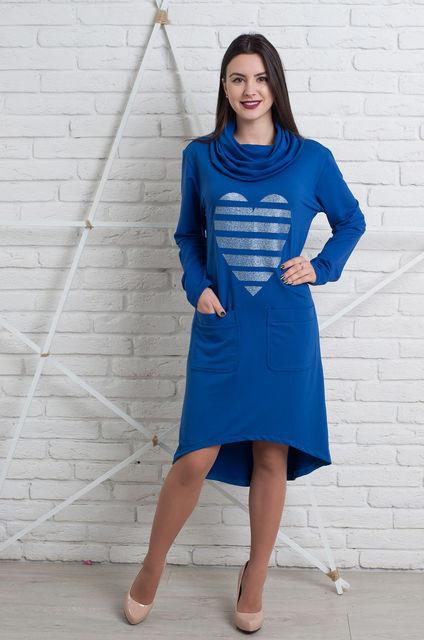 Кэжуал женское платье