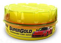 Полироль для кузова с воском карнауба  ABRO Super Gold, 230мл.